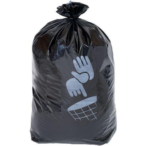 Pytle na odpad Manutan, 110 l, tloušťka 90 mic, 100 ks