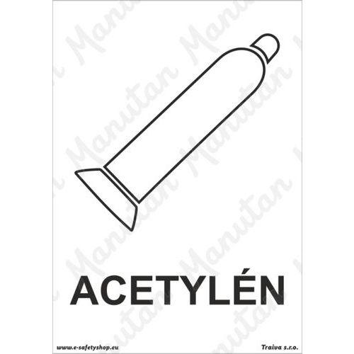Acetylén, plast 148 x 210 x 2 mm A5