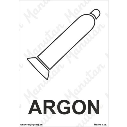 Argon, plast 148 x 210 x 0,5 mm A5
