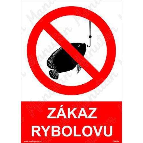 Zákaz rybolovu, plast 297 x 420 x 0,5 mm A3