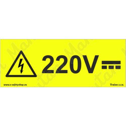 220V, plast 210 x 80 x 0,5 mm