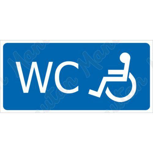 WC pro invalidy, plast 190 x 90 x 0,5 mm