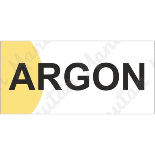 Argon, plast 190 x 90 x 0,5 mm