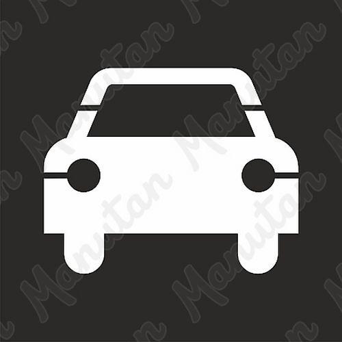 Šablona auto, plast 940 x 940 x 0,5 mm
