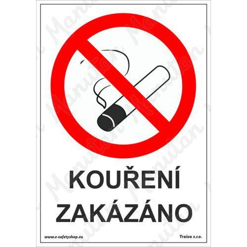 Kouření zakázáno, plast 210 x 297 x 0,5 mm A4