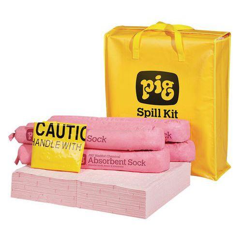 Havarijní souprava Pig, chemická, sorpční kapacita 38 l