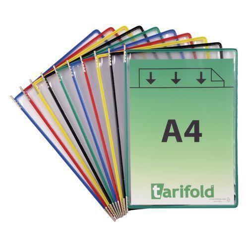 Informační rámečky Tarifold A4, 10 ks