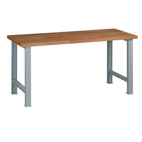 Dílenský stůl Weld, 84 x 170 x 68,5 cm, šedý - Prodloužená záruka na 10 let