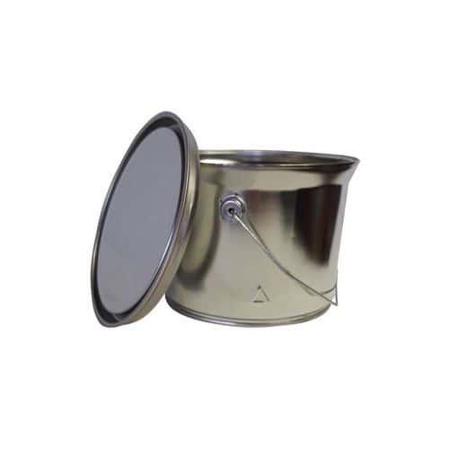 Plechový kyblík KB Conic, 2,5 l