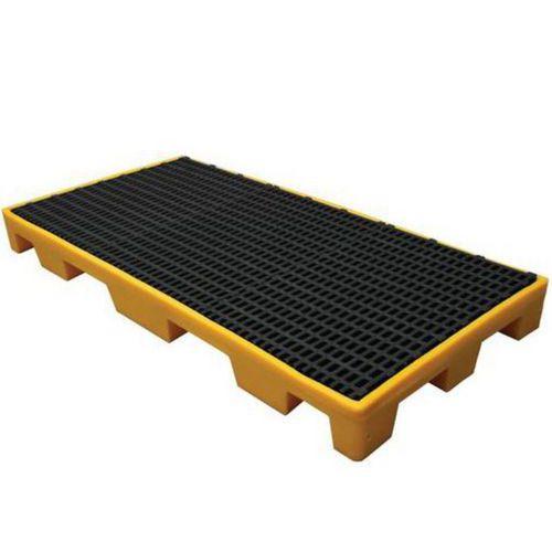 Modulová plastová záchytná vana s roštem, kapacita 60 l
