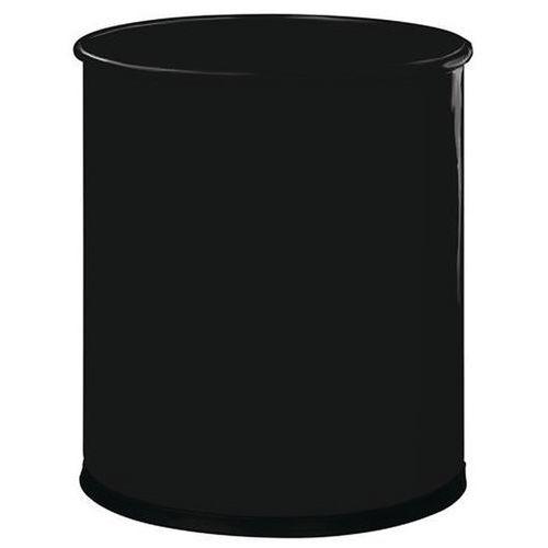 Kovový odpadkový koš Manutan OneTop, objem 15 l