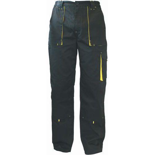 Pánské montérkové kalhoty Manutan, černé