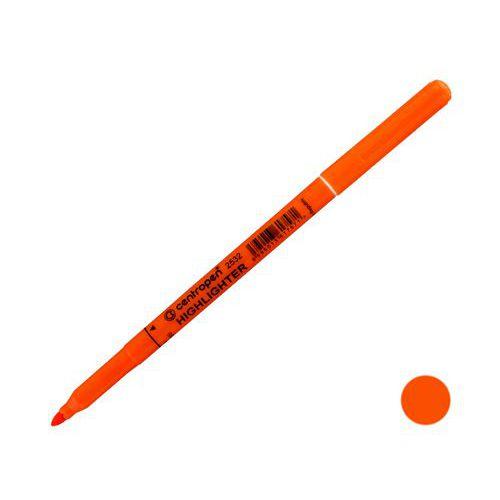 Zvýrazňovač CENTROPEN 2532, oranžový