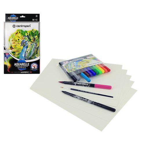 Fix akvarelový sada CENTROPEN 9383/14