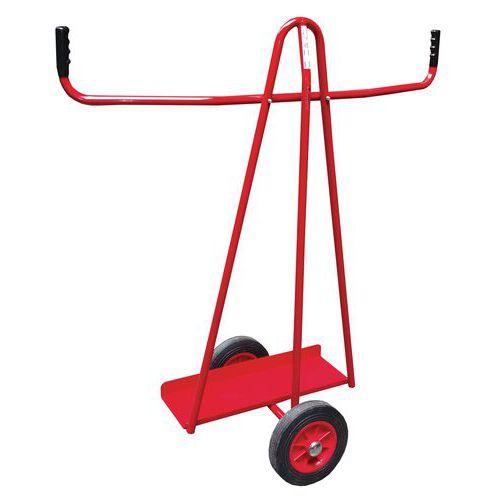 Vozík na rozměrné tabule Red, do 300 kg