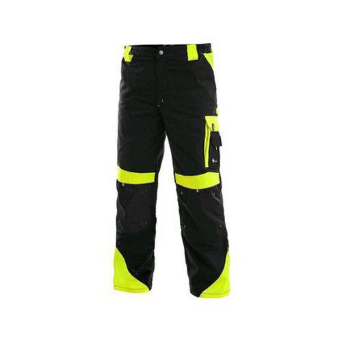 Kalhoty do pasu CXS SIRIUS BRIGHTON, zimní, pánské, černo-žluté