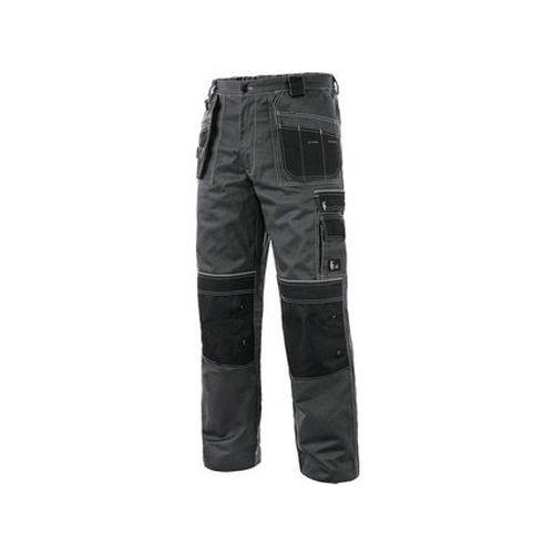 Kalhoty do pasu CXS ORION TEODOR PLUS, pánské, šedo-černé