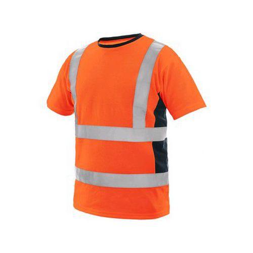 Tričko EXETER, výstražné, pánské, oranžové