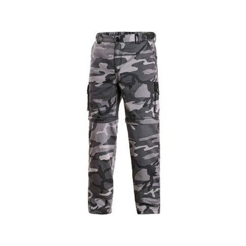 Kalhoty CXS VENATOR, pánské, černo-šedé (maskáčové)