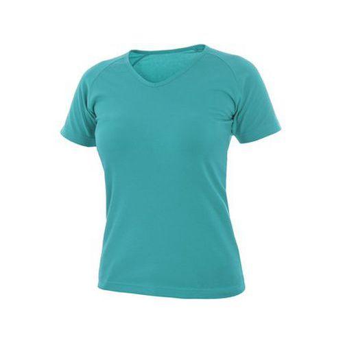 Tričko ELLA, dámské, tyrkysové