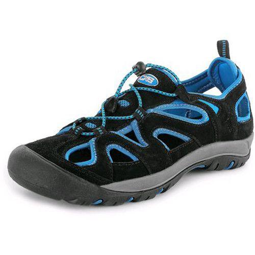 Obuv sandál NAMIB, černo-modrá
