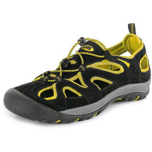 Obuv sandál CXS GOBI, černo-žlutá