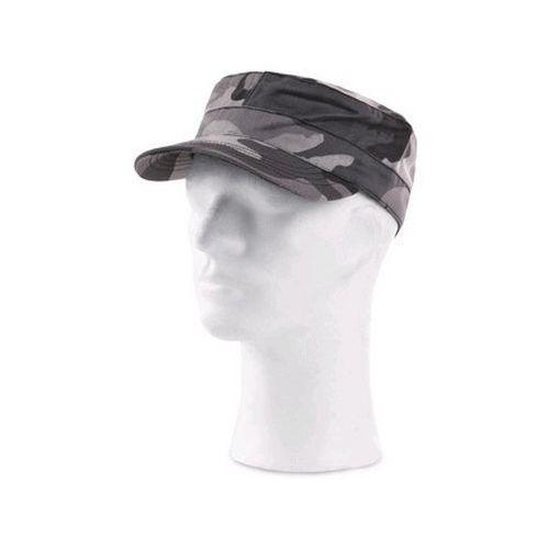 Čepice CXS VENATOR, černo-šedá (maskáčová), UNI