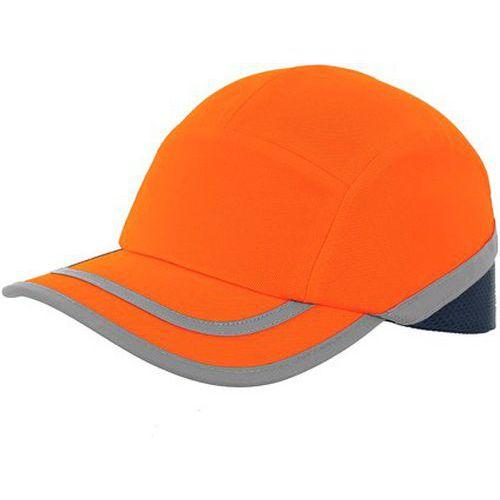 Čepice s plastovou výztuhou CXS Callum, oranžová