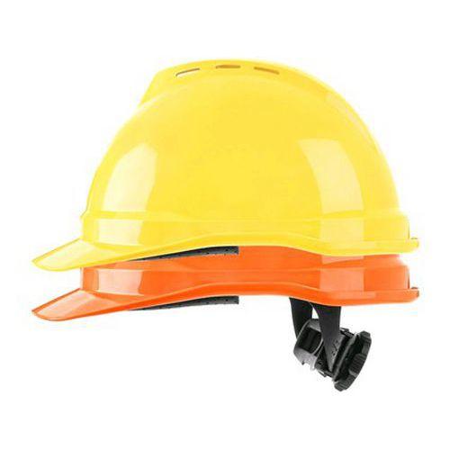 Přilba MSA V-Gard 500 větraná, reflexní oranžová