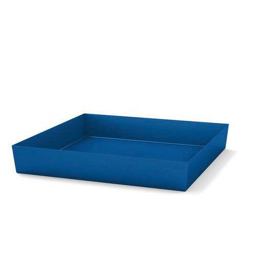 Ocelová záchytná vana, na paletu, pro 4 sudy, lakovaná - Prodloužená záruka na 10 let