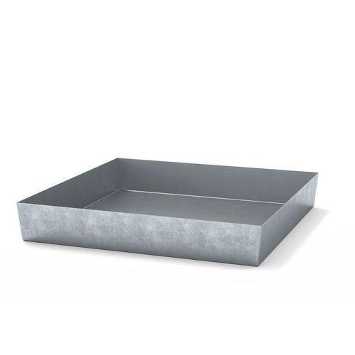 Ocelové záchytné vany, pro 4 sudy