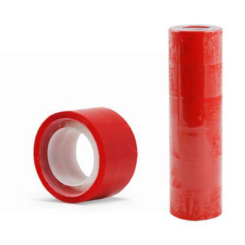 Lepící páska 24mm x 10m, červená