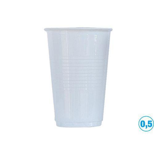 Kelímek 0,5l PP, bílý
