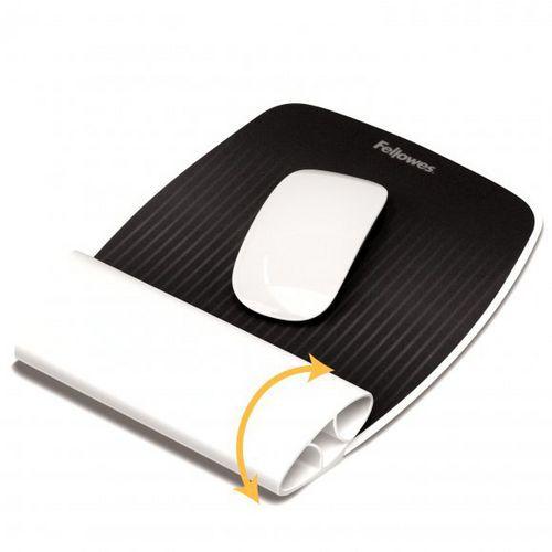 Fellowes I-Spire bílá / Podložka pod myš a zápěstí (felfergwmpadispirebl)