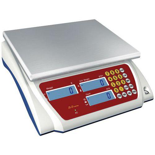 Počítací váha Manutan JSD, do 3 kg