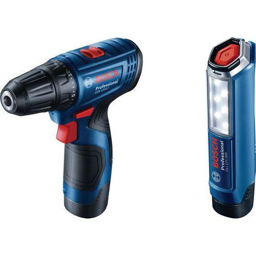 Aku šroubovák Bosch GSR 120-LI Professional, 1300 ot/min + svíti