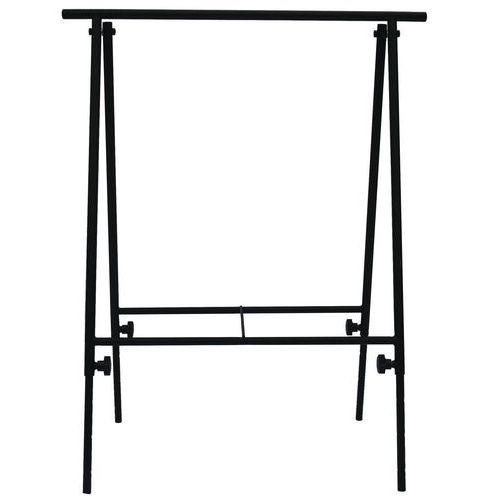 Výškově stavitelný kovový podstavec (koza), nosnost 80 kg
