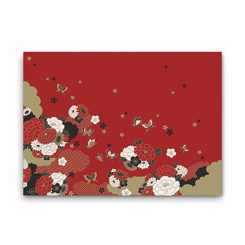 Jednorázové papírové prostírání Infibra 30 x 45cm, Asian, 200ks