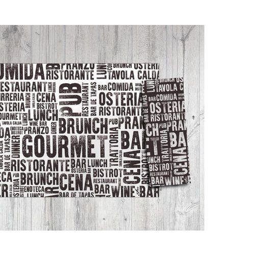 Jednorázové papírové prostírání Infibra 30 x 40 cm, Gourmet, 250