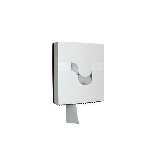 Zásobník Celtex Magnum pro 3 kompaktní toaletní papíry, bílý