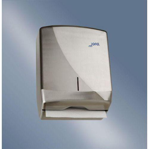 Zásobník na skládané papírové ručníky JOFEL Futura New Line nerez