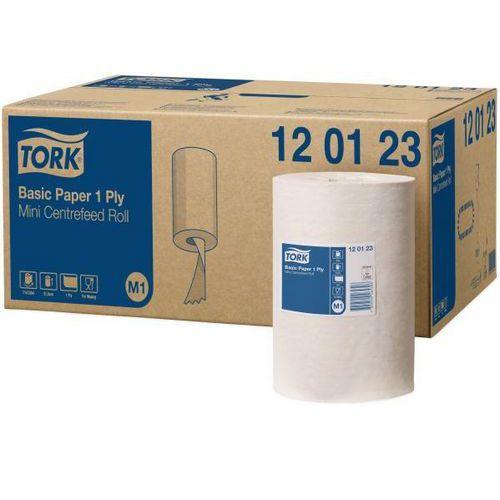 Papírové ručníky v miniroli Tork UNIVERSAL 310, bílé, 11ks