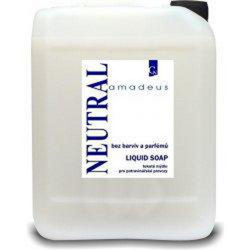 Tekuté mýdlo Amadeus 5l, neutral