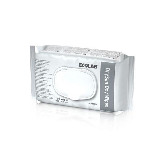 Dezinfekční čisticí prostředek k přímému použití Drysan Oxy Wipes, 160ks