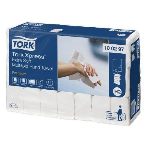 Papírové ručníky skládané Tork Xpress PREMIUM Extra Soft bílá TAD H2, 2100ks