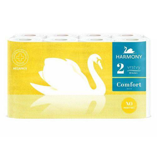 Toaletní papír Harmony Comfort 2vrstvy bílý, 16ks