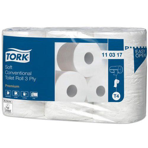 Toaletní papír Tork Premium Extra Soft 3vrstvy 248 útržků T4, 6ks