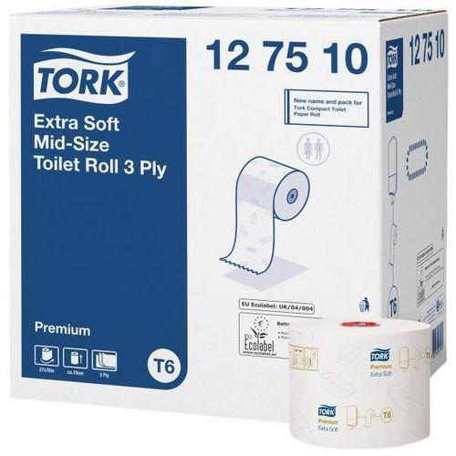 Toaletní papír kompaktní role Tork Premium Extra Soft 3vrstvy bílý T6, 27ks