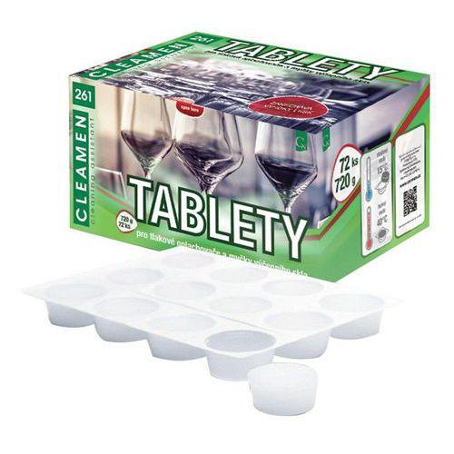 Cleamen 261 tablety - restaurační sklo, 72ks