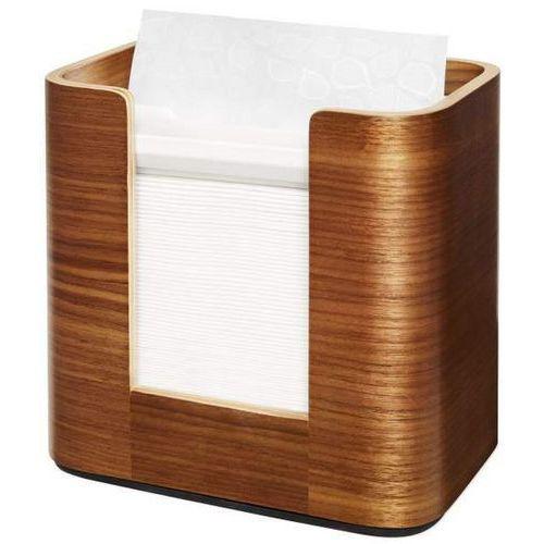 Stolní zásobník Tork Xpressnap™ Image N4 v provedení ořechové dřevo